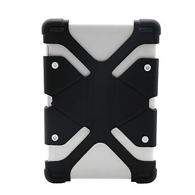 Недорогие Универсальные чехлы и сумочки-чехол для apple / samsung galaxy / huawei универсальный противоударный бампер сплошной цветной силикагель 8,9-12 дюймов