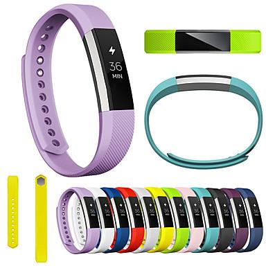 저렴한 휴대폰 액세서리-시계 밴드 용 Fitbit Alta HR / Fitbit Alta 핏빗 스포츠 밴드 실리콘 손목 스트랩