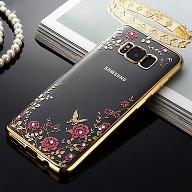 voordelige Galaxy J-serie hoesjes / covers-hoesje Voor Samsung Galaxy J7 (2016) / J5 (2016) Schokbestendig / Stofbestendig / Patroon Achterkant Bloem Zacht TPU