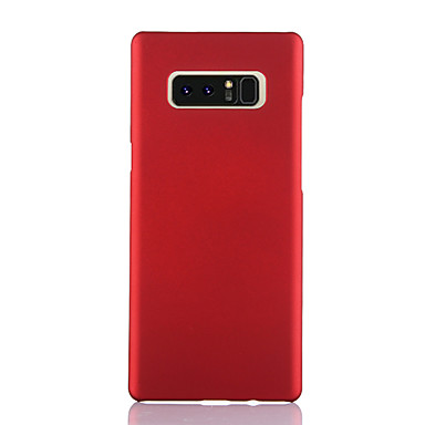 Недорогие Чехлы и кейсы для Galaxy Note-Кейс для Назначение SSamsung Galaxy Note 9 / Note 8 / Samsung Note 10 Ультратонкий Кейс на заднюю панель Однотонный ТПУ