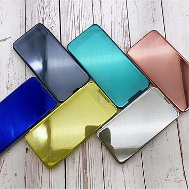 Недорогие Чехлы и кейсы для Xiaomi-чехол для xiaomi xiaomi redmi note 6 / xiaomi redmi 6 pro / xiaomi redmi note 7 / mi 9 / mi9 se / mi 9t / note5 / cc9 / cc9e / mi8 / mi8 lite / redmi 7 зеркало / флип чехлы для тела сплошной цвет ПК