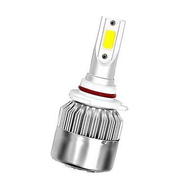 olcso HID és halogén izzók-1 db univerzális nagy teljesítményű autó izzók c6 autó led fényszórók - 6000k - fehér fény
