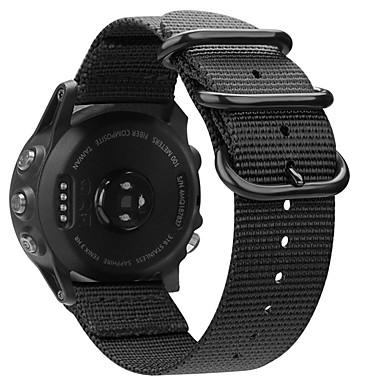 voordelige Smartwatch-accessoires-horlogeband voor fenix 5x / fenix 3 uur / fenix 3 garmin zakelijke band stoffen polsband