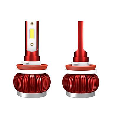 voordelige Autokoplampen-2 stks 9-36 v 36 w 3800lm 6000 k auto cob mist led gloeilamp modellenh8 / h9 / h11