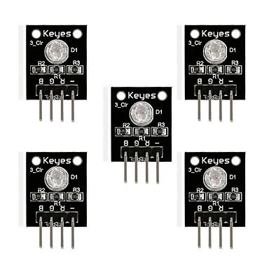 olcso KIT-3 színes, színes színű led plug-in (fekete) * 5 db / sorozat