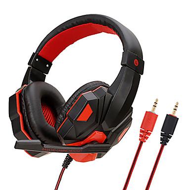 お買い得  ヘッドセット、ヘッドホン-sy830有線ヘッドフォンステレオヘッドセットゲーミングイヤホン(ps4 / xbox one / pc用のマイク付きコンピューター用)