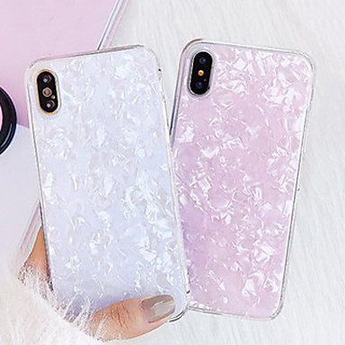 voordelige iPhone-hoesjes-hoesje Voor Apple iPhone XR / iPhone XS Max / iPhone X Stofbestendig / Ultradun / Backup Achterkant Hemel / Kleurgradatie silica Gel