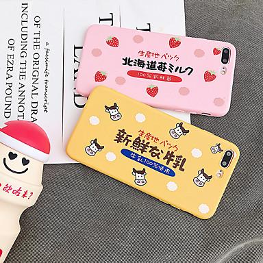 Недорогие Кейсы для iPhone 7 Plus-Кейс для Назначение Apple iPhone XS / iPhone XR / iPhone XS Max Защита от пыли / С узором Кейс на заднюю панель Мультипликация ТПУ