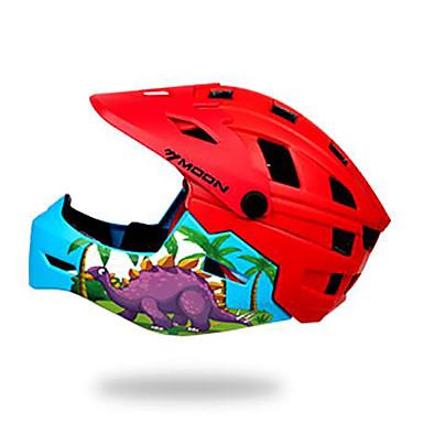 ieftine Căști-Pentru copii biciclete Casca BMX Casca 28 Găuri de Ventilaţie EPS ABS + PC Sport Exerciții exterior Ciclism / Bicicletă - Roșu+albastru Verde Unisex