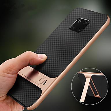 voordelige Huawei Mate hoesjes / covers-houder stand case voor huawei mate 20 pro mate 20 lite mate 20 hard pc soft tpu schokbestendig achterkant voor huawei mate 10 pro mate 10
