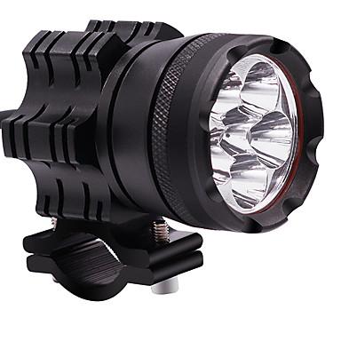 voordelige Motorverlichting-2 stks 60 w motorfiets lamp 12 v constant licht waterdichte zes-bead led koplamp