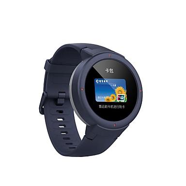رخيصةأون ساعات ذكية-HUIMI amazfit نسائي سمارت ووتش Android iOS WIFI بلوتوث ضد الماء شاشة لمس رصد معدل ضربات القلب رياضات رمادي داكن مؤقت المشي عداد الخطى تذكرة بالاتصال ساعة منبهة