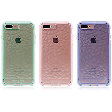 voordelige iPhone 6 Plus hoesjes-hoesje Voor Apple iPhone 8 Plus / iPhone 8 / iPhone 7 Plus Schokbestendig Achterkant Lijnen / golven TPU