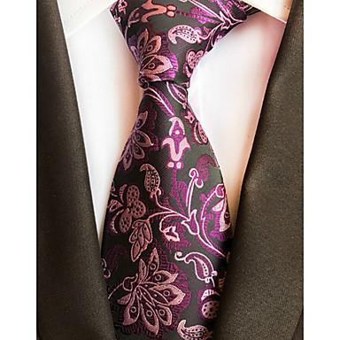رخيصةأون اكسسوارات رجالية-ربطة العنق خملة الجاكوارد رجالي حفلة / عمل