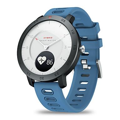 رخيصةأون ساعات ذكية-Zeblaze الهجين معدل ضربات القلب مراقبة ضغط الدم في الوقت الحقيقي درجة حرارة الطقس الهدف تذكير وسائط مزدوجة الأيدي الميكانيكية الساعات الذكية