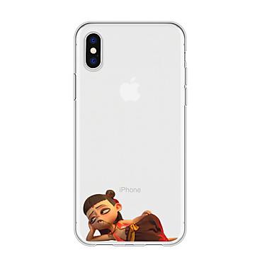 voordelige iPhone X hoesjes-hoesje Voor Apple iPhone XS / iPhone XR / iPhone XS Max Patroon Achterkant Cartoon TPU