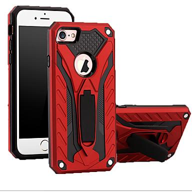 voordelige iPhone X hoesjes-hoesje voor Apple iPhone XS / iPhone XR / iPhone XS Max schokbestendige achterkant Armor TPU / koolstofvezel