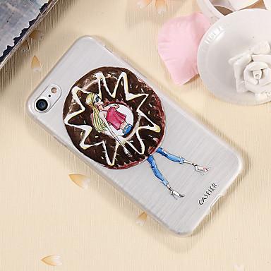 voordelige iPhone-hoesjes-hoesje voor Apple iPhone XS Max / iPhone X / XS stofdicht / ultradun / doorschijnend achterkant sexy dame zachte TPU / waterdicht / anti-fall / scrub shell telefoonhoesje voor iPhone 6 / 6s plus /