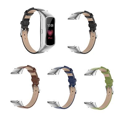 Недорогие Часы для Samsung-Запасной кожаный ремешок для наручных часов с ремешком для Samsung Galaxy Sm-R370