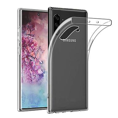 Недорогие Чехлы и кейсы для Galaxy Note-тонкий прозрачный мягкий чехол для телефона Samsung Galaxy Note 10 плюс примечание 10 примечание 9 примечание 8 ультратонкий чехол