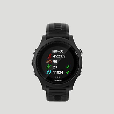 رخيصةأون ساعات ذكية-GARMIN® Garmin Forerunner 935 الرجال النساء سمارت ووتش Android iOS WIFI بلوتوث ضد الماء شاشة لمس GPS رصد معدل ضربات القلب أصفر فاتح ECG + PPG مؤقت المشي عداد الخطى تذكرة بالاتصال