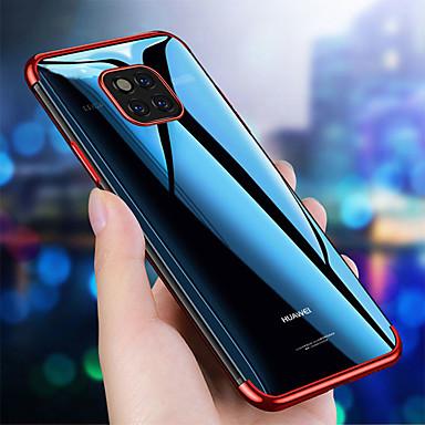 voordelige Huawei Mate hoesjes / covers-plating doorzichtig siliconen hoesje voor Huawei mate 20 pro mate 20 Lite mate 20 hoesje transparant zacht TPU hoes voor Huawei mate 10 pro mate 10 Lite mate 10 mobiele telefoon tas