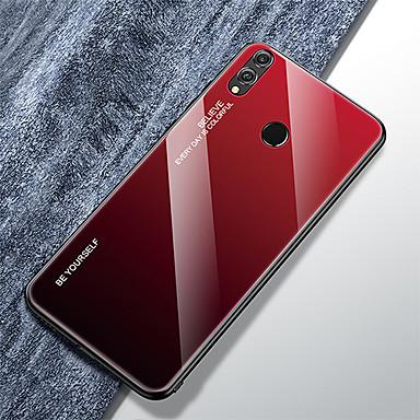 Θήκη Za Huawei Huawei Nova 4 / Čast 8X / nova 5 Ultra tanko Stražnja maska Prijelaz boje Kaljeno staklo