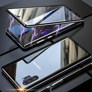 povoljno Samsung oprema-magneto magnetsko adsorpcijsko metalno stakleno kućište za samsung galaxy note 10 pro note 10 navlake za stražnje poklopce za samsung galaxy note 9 note 8
