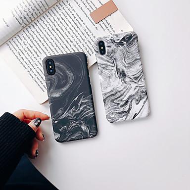 voordelige iPhone-hoesjes-hoesje Voor Apple iPhone XS / iPhone XR / iPhone XS Max Glow in the dark / Ultradun / Patroon Achterkant Marmer TPU