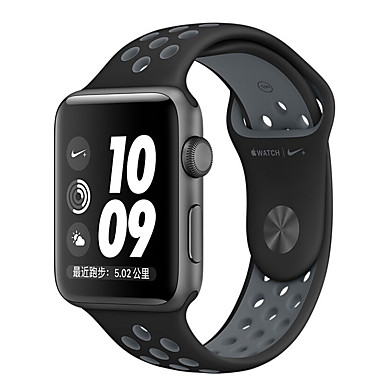 voordelige Smartwatch-accessoires-Horlogeband voor Apple Watch Series 4/3/2/1 Apple Sportband Silicone Polsband