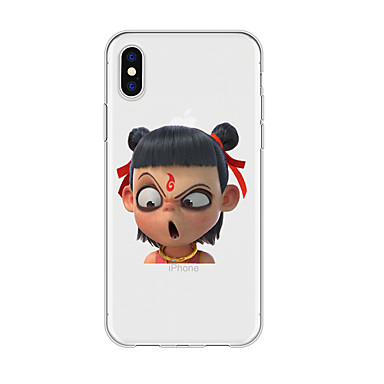 voordelige iPhone 6 hoesjes-hoesje Voor Apple iPhone XS / iPhone XR / iPhone XS Max Patroon Achterkant Cartoon TPU