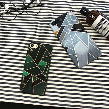 voordelige iPhone X hoesjes-hoesje Voor Apple iPhone XS / iPhone XR / iPhone XS Max Stofbestendig / Patroon Achterkant Geometrisch patroon PC