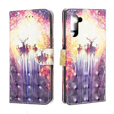 voordelige Galaxy Note-serie hoesjes / covers-hoesje Voor Samsung Galaxy Note 9 / Galaxy Note 10 / Galaxy Note 10 Plus Portemonnee / Kaarthouder / Schokbestendig Volledig hoesje dier PU-nahka