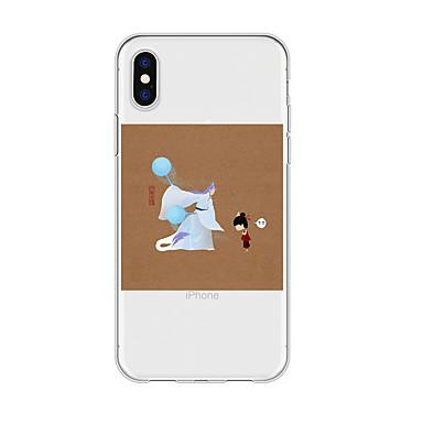 voordelige iPhone 5 hoesjes-hoesje Voor Apple iPhone XS / iPhone XR / iPhone XS Max Patroon Achterkant Cartoon TPU