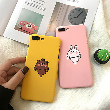 voordelige iPhone X hoesjes-hoesje voor Apple iPhone XS / iPhone XR / iPhone XS Max Stofdicht / Patroon Achterkant Cartoon Hard PC voor iPhone XR / 6/7/8 / 6p / 7p / 8p / x