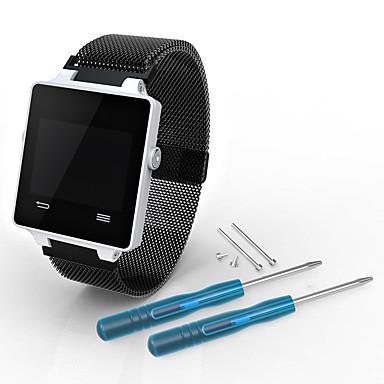 Недорогие Аксессуары для смарт-часов-Ремешок для часов для Vivoactive HR Garmin Миланский ремешок Нержавеющая сталь Повязка на запястье