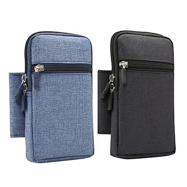 Недорогие Универсальные чехлы и сумочки-6-дюймовый открытый спортивный чехол для универсального держателя карты сумка сумка талии двойная головка на молнии сменная ручка
