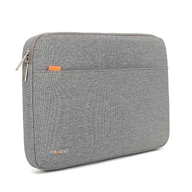 olcso Laptop huzatok-13.3 14 15.6 vízálló nejlon egyszínű, ütésálló laptop borítóhüvelyek rázkódásmentes tok felülethez / MacBook / hp / dell / samsung / sony stb szürke
