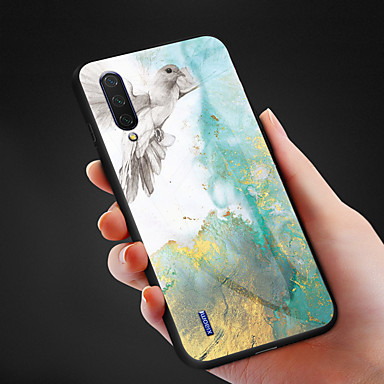 Недорогие Чехлы и кейсы для Xiaomi-Чехол для телефона из мрамора с рисунком из закаленного стекла для xiaomi mi cc9e cc9 mi 9 se mi 9 mi 9t pro mi 9t mi max 3 противоударная задняя крышка tpu soft edge