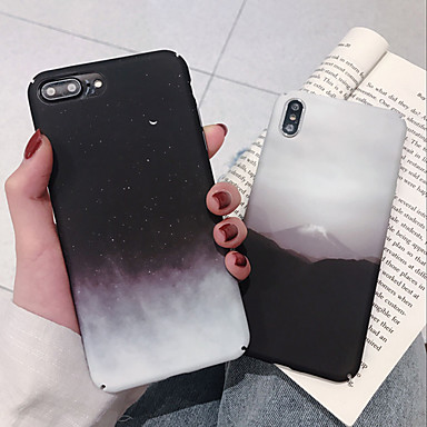voordelige iPhone 6 Plus hoesjes-hoesje Voor Apple iPhone XS / iPhone XR / iPhone XS Max Stofbestendig / Patroon / Backup Achterkant Landschap TPU