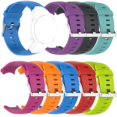 Недорогие Аксессуары для смарт-часов-Ремешок для часов для Подход Garmin S3 Garmin Спортивный ремешок силиконовый Повязка на запястье