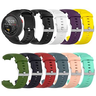 Недорогие Аксессуары для смарт-часов-Ремешок для часов для Амазфит Верже Amazfit Спортивный ремешок TPE Повязка на запястье