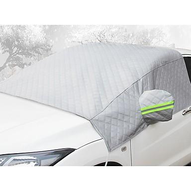 رخيصةأون يغطي السيارة-غطاء السيارة الأمامي التجمد المضادة للتجمد والثلج سماكة نصف الجسم الملابس نصف غطاء السيارة