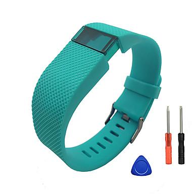 voordelige Smartwatch-accessoires-Horlogeband voor Fitbit Charge HR Fitbit Sportband / DHZ Gereedschap Silicone Polsband