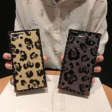 Недорогие Кейсы для iPhone 6-чехол для яблока iphone xs / iphone xr / iphone xs max / x / 6/7/8 / 6plus / 7plus / 8plus кольцо держатель / узор линии задней крышки / волны / блеск металла