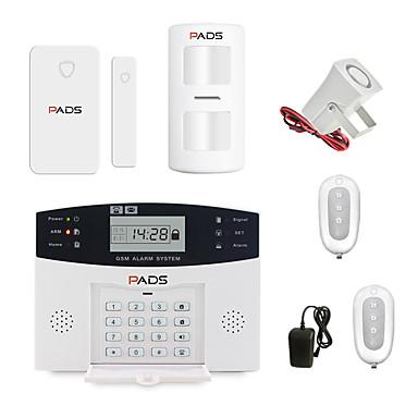 olcso Biztonsági érzékelők-vezeték nélküli gsm riasztórendszer betörésjelző otthoni biztonsági rendszer