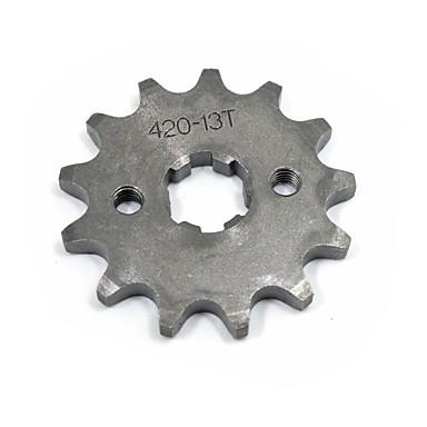 420-17mm-13T الأسنان دراجة نارية الحفرة الترابية دراجة ATV ضرس تعيين # 420 سلسلة