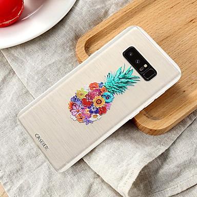 voordelige Galaxy S-serie hoesjes / covers-hoesje Voor Samsung Galaxy S8 Plus / S7 edge / S6 edge Waterbestendig / Stofbestendig / Doorzichtig Achterkant Voedsel TPU