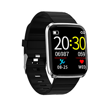 Недорогие Смарт-электроника-Kimlink 116pro Мужчина женщина Смарт Часы Android iOS Bluetooth Водонепроницаемый Сенсорный экран Пульсомер Измерение кровяного давления Спорт