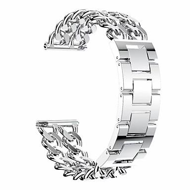 Недорогие Часы для Samsung-Ремешок для часов для Gear S3 Classic Samsung Galaxy Дизайн украшения Нержавеющая сталь Повязка на запястье